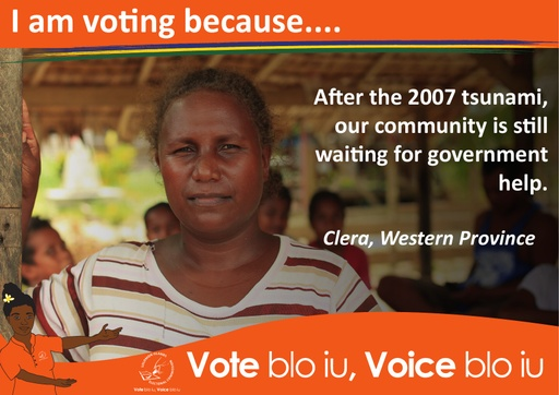 Clera - I am voting because