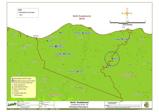 North Guadalcanal Constituency (A3)