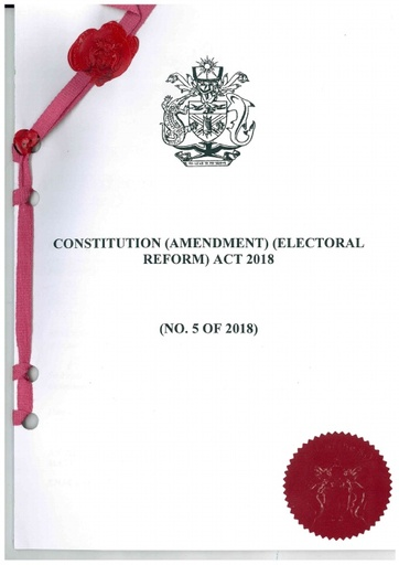 Constitution (Amendment) (Electoral Reform) Act 2018