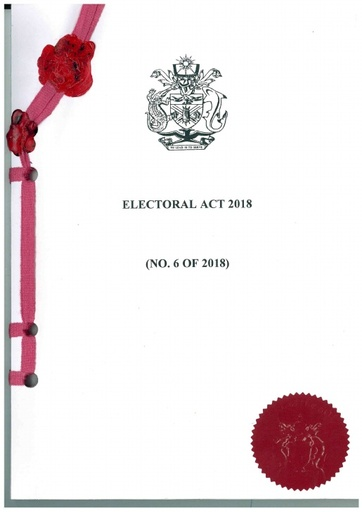 Electoral Act 2018